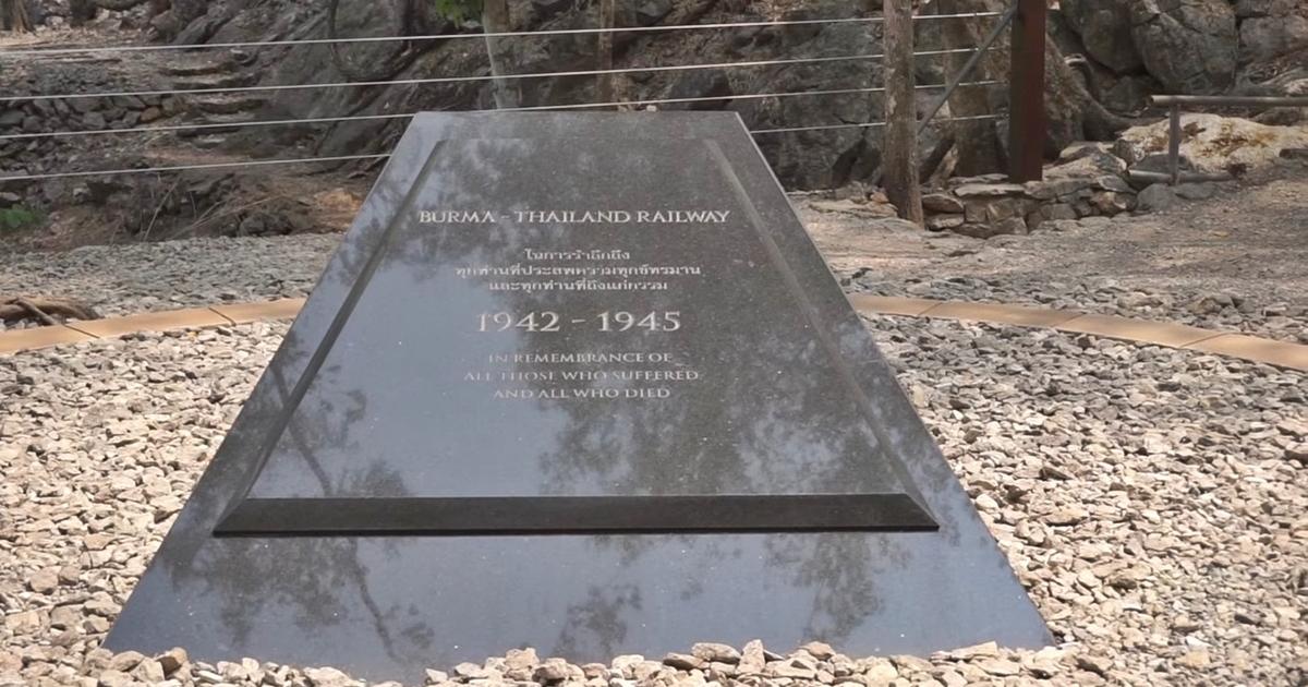 Hellfire Pass Remembrance Stone